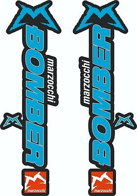 Marzocchi Bomber Fork / Suspension Stickers Decal Kit Bicycle Decal MTB #b074 • 8.20£