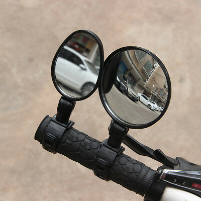 360° Rotate Adjustable Handlebar Rearview Mirror For Bike MTB Bicycle Cycling UK • 5.27£