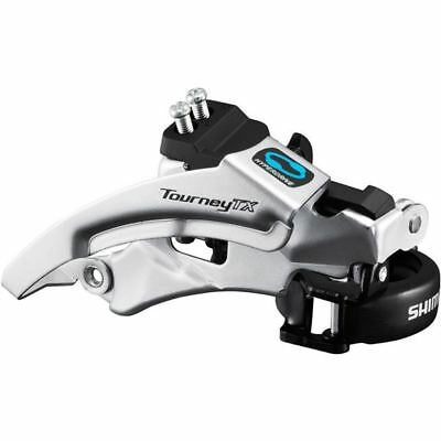 Shimano FD-TX800 Tourney TX Front Derailleur, Top Swing Dual Pull, 42/48T, 66-69 • 13.49£