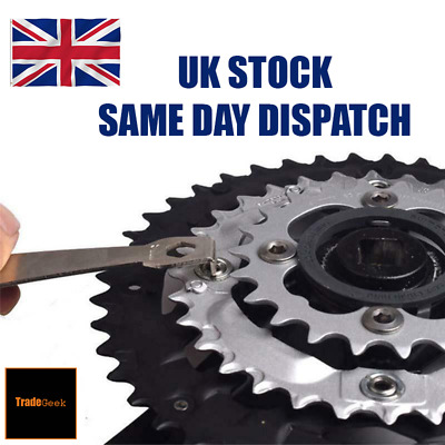 Bike Chainring | Nut Wrench | Bolt Spanner | Crank Set | Bicycle Tool | UK Stock • 4.29£