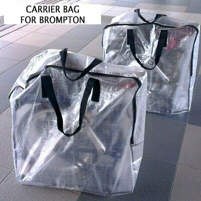 Carrier Bag For Brompton Bicycle Bike Carry Cover Travel Airplane • 8.99£