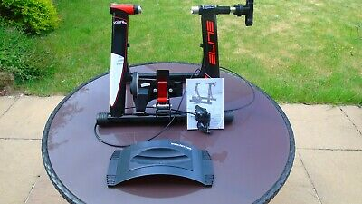 Elite Volare Mag Turbo Trainer - 5 Speed + Tacx Riser + Original QR Skewer  • 25£
