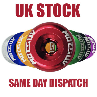 Bicycle Chainring Bolts Nuts Screws | Double Chainring Bike | Red UK Stock  • 3.99£