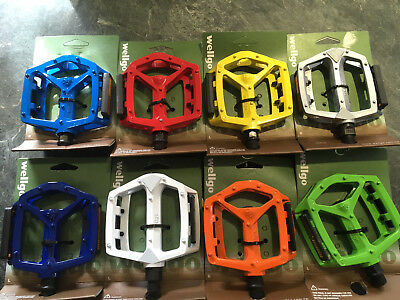 Wellgo Alloy Pedals DX Type With Boron Axle 1/2  (One Pair) Colour Choice • 14.95£