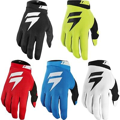 2020 SHIFT MX MOTOCROSS WHIT3 White LABEL AIR GLOVES Bike Mtb Adult • 16.50£