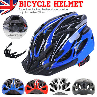 Unisex Road Mountain Bicycle Helmet Bike Cycling Safety Helmet Outdoor Sports • 17.89£