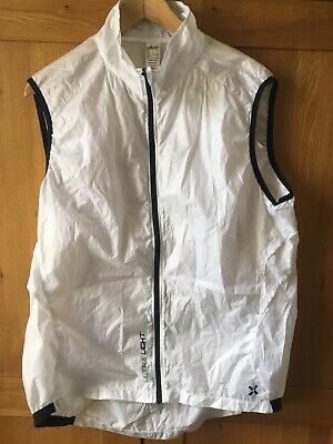 Btwin Cycling Gilet White Xl Light Weight Mint • 12£