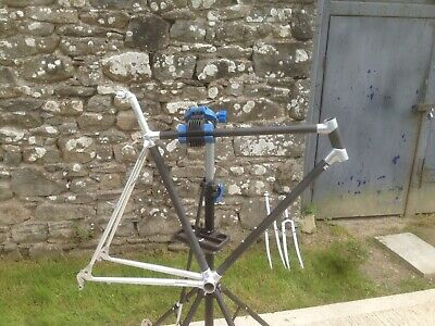 Vintage Alan Cyclocross Carbon Fibre Frame With Two Sets Of Forks • 162.68£