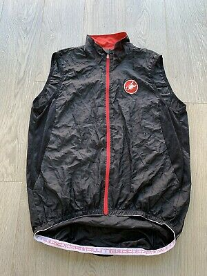 Castelli Cycling Gilet Size XL (would Suit Large) • 16£