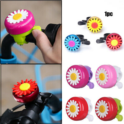 Kids Bicycle Bell Horns Bike Daisy Flower Children Girls Cycling Ring Alarm UK~ • 2.99£