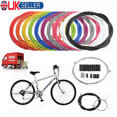Jagwire Front & Rear Brake Gear Cable Kit Inner Outer MTB Mountain Bike Bicycle • 6.25£