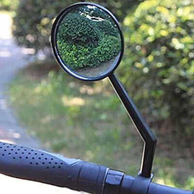 2X Wide Rear View Rearview Convex Mirror Cycling Bike Bicycle Handlebar HOT SALE • 4.84£