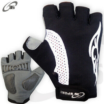3S Sports Cycling Gloves Fingerless Half Finger Gloves Bike Riding Mitts Gloves  • 6.99£