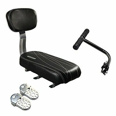 Shayson Bike Back Seat Accessories Set, Child Safety Bicycle Rear Seat Cushion • 46.99£