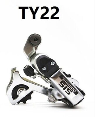 Shimano Tourney RD TY22 7-21 Speed Bicycle Rear Derailleur Mexh Direct Attach • 8.50£