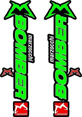 Marzocchi Bomber Fork / Suspension Stickers Decal Kit Bicycle Decal MTB #b0139 • 8.20£
