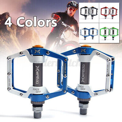 Bicycle Mountain MBX Bike Platform Pedals Flat Aluminum Sealed Bearing 9/16''  • 17.99£