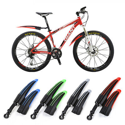 Unbreakable Parts Mountain Bike Fenders Bicycle Mudguard  Front/Rear  Wings • 6.89£