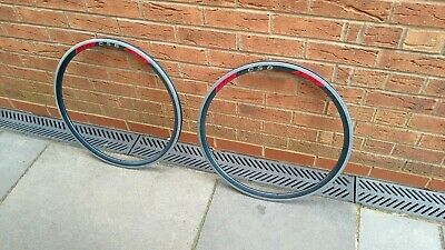 Retro Vintage Pair Of Rigida DP22 Deep Section Rims • 39.95£
