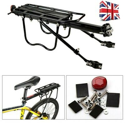 2020 Bicycle Outdoor MTB Mountain Road Bike Rear Pannier Carrier Rack Seat Post • 14.89£