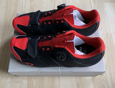 Giro Savix Black/red Road Race Cycle Shoes Eu 44 Uk 9.5 - Brand New • 68£