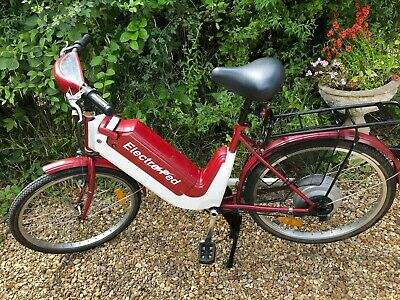 Vintage Ebike Electric Bike, Electro Ped Electric Bike With Charger • 185£