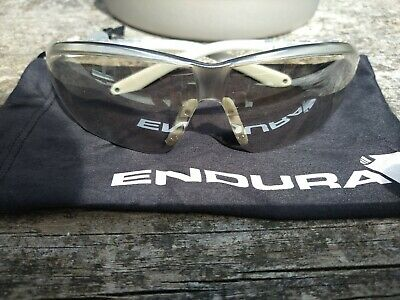 Endura Clear Lens Cycling Glasses - Used • 4£