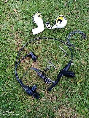 Magura HS11 Hydraulic Rim Brake  With Brake Booster And Extra Pads- Front Brake. • 10.50£