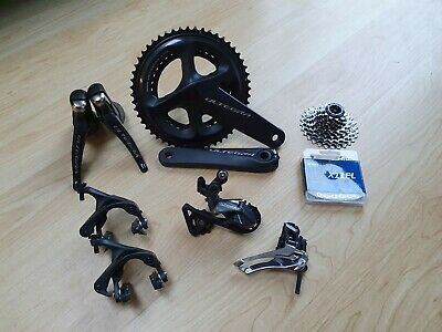 Shimano Ultegra R8000 11 Speed Groupset 52/36 172.5 11/28 KMC Great Condition  • 199.99£