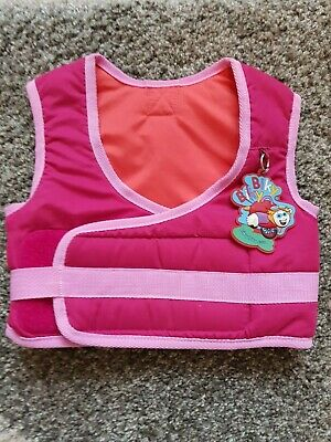 Bikeybikey Pink Kids Learn To Cycle Safety Vest Harness Ex Cond • 10.50£