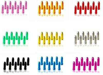 Inner Wire End Tidy Crimps For Brake & Gear In Alloy Anodised Colours • 2.79£