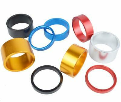 Handle Bar Stem Headset Spacer In Anodised Alloy Colours 28.6mm 4 Pack • 3.99£