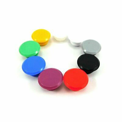 Bicycle Handlebar End Plug Caps PVC 20-24mm Assorted Colours • 2.29£