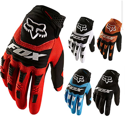 Full Finger Glove Racing Motorcycle Gloves Cycling Bicycles BMX MTB Bikes Riding • 9.99£
