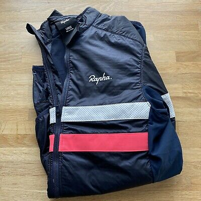 Mens Cycling Rapha Brevet Insulated Jacket - Large • 115£