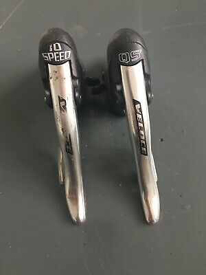 Campagnolo Veloce 10-Speed Shifters ErgoLevers • 35£