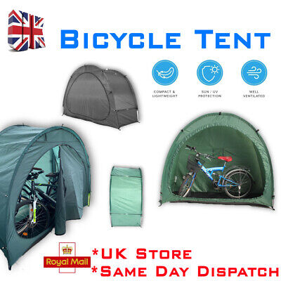 Bicycle Bike Shed Tidy Tent Garden Storage Cover/Bike Shelter Outdoor UK Stock • 36.99£