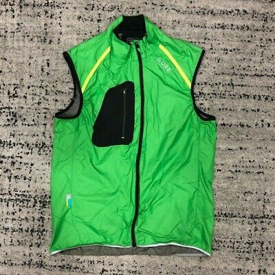 Gore Women's Green Windstopper Active Shell Running Gilet, Size L. Used • 14.99£