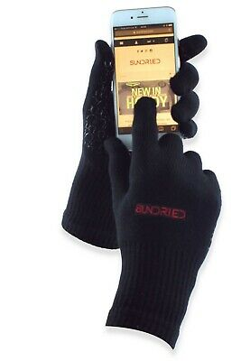 Sundried Bamboo Running And Cycle Gloves Tech Touch For IPhone • 6.30£