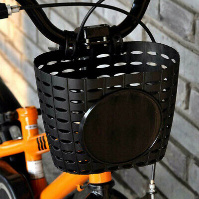 UK Shopping Holder Cycling Easy Install Bicycle Front Basket Children Kids • 6.99£