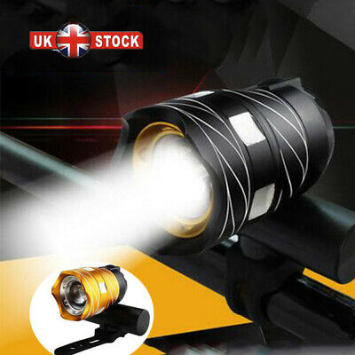 USB Rechargeable MTB Rear&Front LED Set 15000LM Bicycle Lights Bike Headlight • 8.69£
