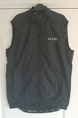 Le Col Sport Soft Shell Men's Cycling Gilet XL RRP-£85 (water/ Wind Resistant) • 51£