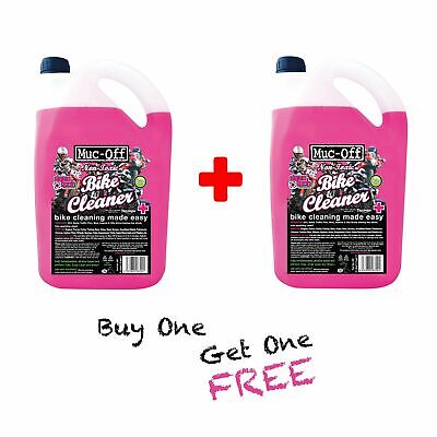 Muc Off Twin Pack 5 Litre (10 Litres) Motorcycle|Motocross|MX|Off Road Cleaner • 26.14£
