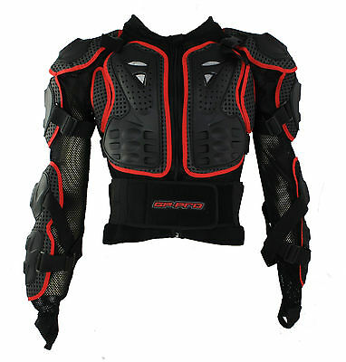 New Adult Body Armour Jacket - Mtb Downhill Skate Scooter Bmx Cycle - 2 Sizes • 59.99£