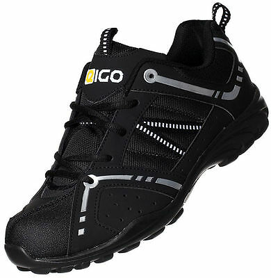 Eigo Centaur Kids Cycle Shoes - Bmx Mtb Mountain Bike Spd Youth Junior • 24.99£