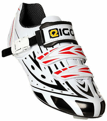 Eigo Sigma Carbon Kids Cycling Shoes - Road Bike Triathlon Cycle Youth Junior • 49.99£