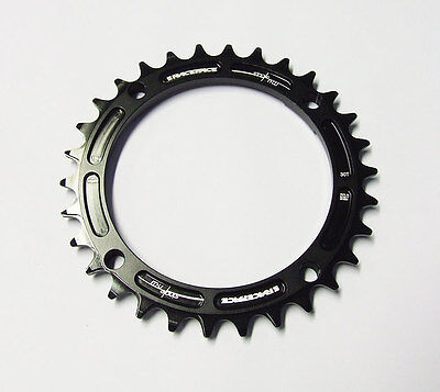 Race Face Narrow Wide Single Chainring - 104mm - Black • 34.99£