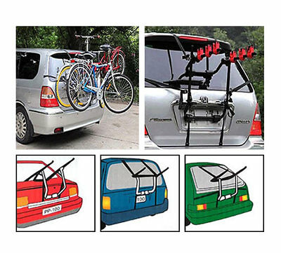 Bicycle Bike Car Cycle Carrier Rack Universal Fitting Saloon Hatchback Estate • 44.99£