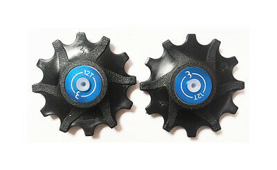 BBB RollerBoys Jockey Wheels - Sram 12T Black - BDP-06 • 14.99£
