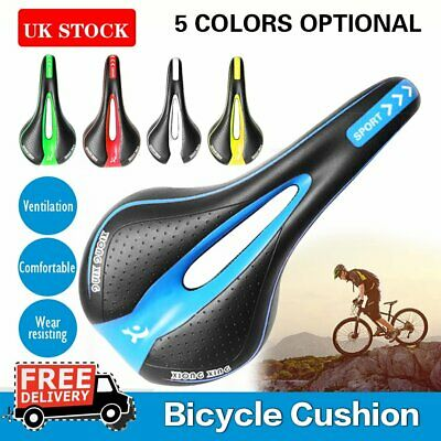 Bicycle Cycle Bike MTB Saddle Road Mountain Sports Soft Cushion Gel Pad Seat • 11.99£